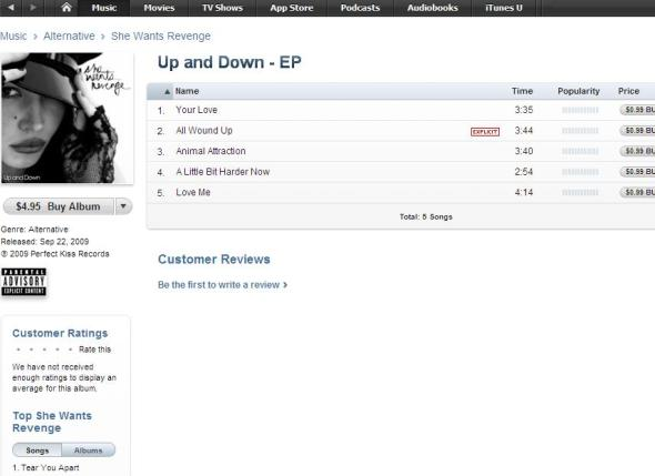 Up and Down on iTunes